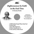 Righteousness by Faith in the End Time MP3