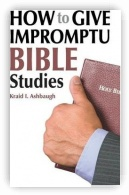How to Give Impromptu Bible Studies